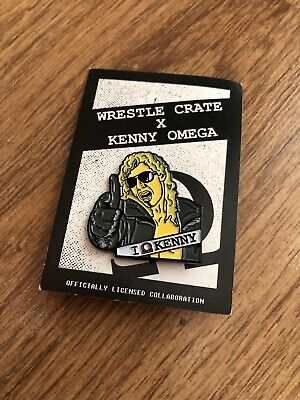 Kenny Omega AEW Being The Elite Pin Badge Wrestle Crate UK
