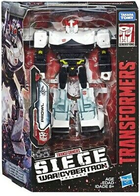 Transformers Generations War for Cybertron Siege Deluxe PROWL WFC-S23 *NIB