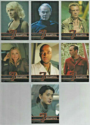Battlestar Galactica - Season 3 - Significant Seven - Chase Card SET (7) - NM