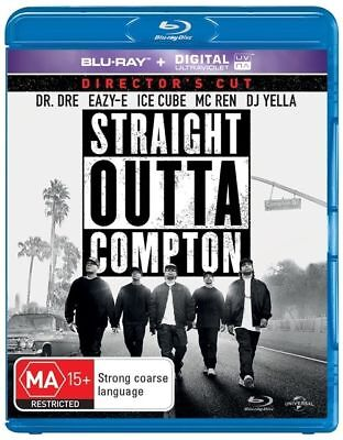 Straight Outta Compton (Blu-ray, 2016) Like New - Free Postage