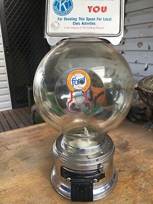 Vintage Ford Gumball Vending Machine, Will Post At Buyers Expense