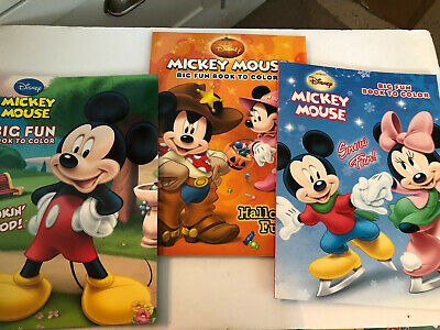 Lot of 3 Disney MICKEY MINNIE MOUSE