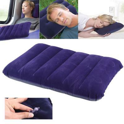 Air Cushion Inflatable Outdoor Camping Comfortable Summer Bed Pillow Car Travel