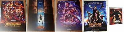 AFFICHES CINEMA - MCU OFFICIEL - MARVEL AVENGERS - 3 affiches 40 x 60 cm