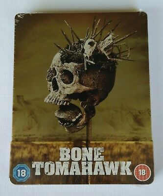 Bone Tomahawk Blu-ray Steelbook - Zavvi Exclusive Limited Edition