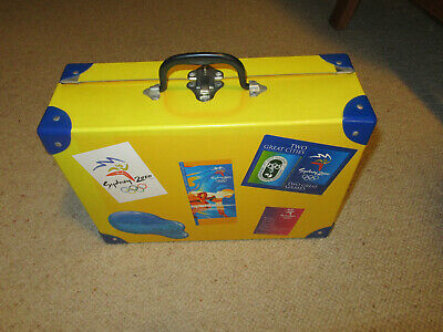 Sydney 2000 Olympics Opening Ceremony Suitcase and Contents - Collectable