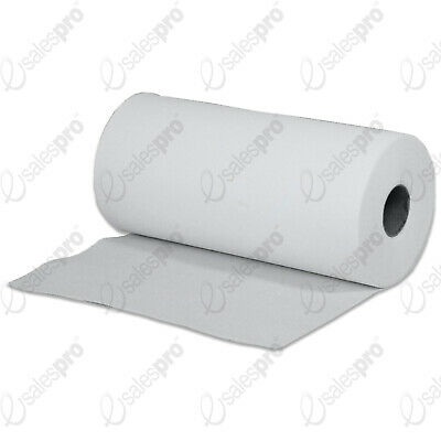 2ply WHITE DESK ROLLS - WIPES - PERFORATED - 24cm WIDE - MULTI BUY DEALS