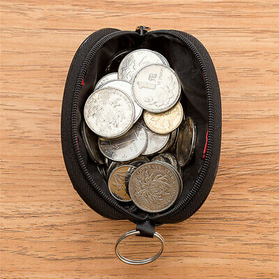 Mini Wallet Credit Holder Key Ring Ladies Change Coin Purse Clutch Bags DD