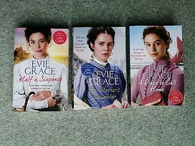 Bundle Collection Evie Grace 3 Trilogy Half A Sixpence, Her Mother's Daughter, A