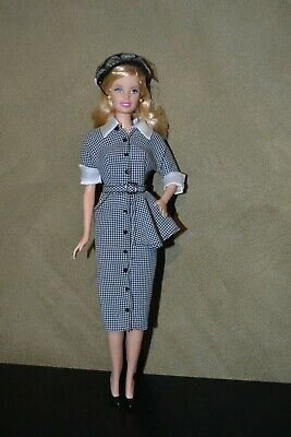 Es Brand Barbie Doll Collector Doll Outfit I Love Lucy - Lucy Does A Commercial
