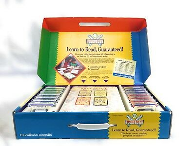 Learn to Read Program by Educational Insights 4+ Home School Workbooks Tapes