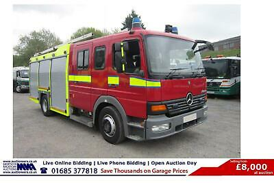 2004 - 54 - Mercedes Atego 4X2 6 Seat Crew Cab Fire Tender (Guide Price)