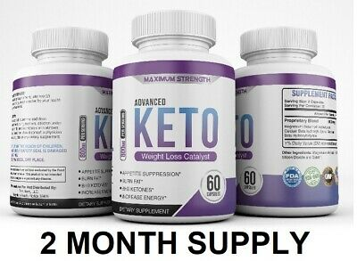 Shark Tank 2CT Best Slimming Keto Burn Fat Burners BHB Diet Pills That Work Fast