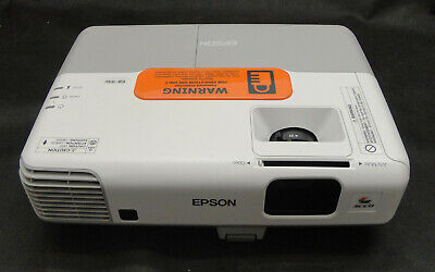 Epson EB-93e 3LCD HDMI/VGA/XGA Projector - Projects Good Image - Lamp 595 hrs