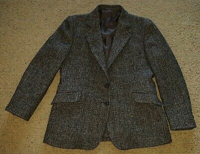 R M Williams genuine vintage Harris Tweed jacket excellent condition S  18