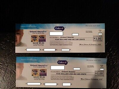Enfamil Baby Formula Products Save $10 Coupon Checks Expires 7/31/19