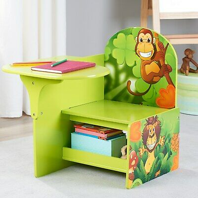 Outstanding Okids Kids Writing Desk And Chair Batman 319 99 Picclick Machost Co Dining Chair Design Ideas Machostcouk