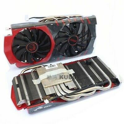 MSI GTX1080/1070/1060/960 Red Dragon RTX470/480/570/580 Graphics card cooler fan