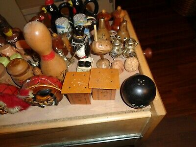 Vintage And Contemporary Salt and Pepper Shakers LOT of 24 Sets + extras