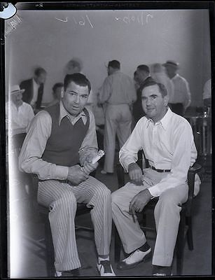 Vint 1930 Boxing Jack Dempsey & George Negative Boxing Heavyweight champion