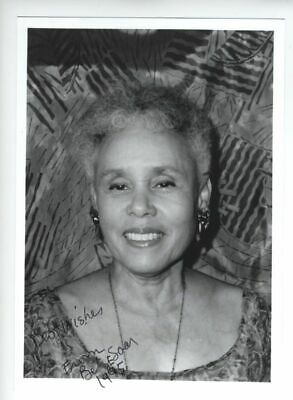1995 Betye Saar Signed Photo African American Artist 5X7 Inches California