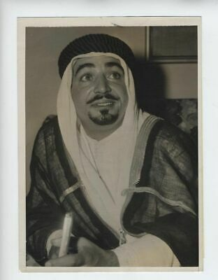 Ezzat Bey Kuwait1948 Press Photo Oil Vintage  الكويت  San Francisco