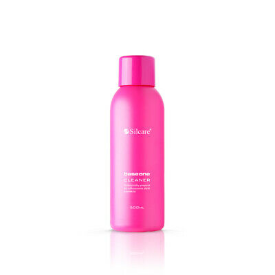 Limpiador Base One 500 ml (cleaner) Silcare Uñas de Gel uv  Acrilico Porcelana