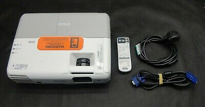 Epson EB-93e 3LCD HDMI/VGA/XGA Projector, Good Image & Remote/Cables - Low Hours