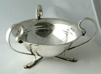 SUPERB ARTS & CRAFTS Solid Silver TYG BOWL ~London 1907 ~231g ~ BRISTOL S/SMITHS