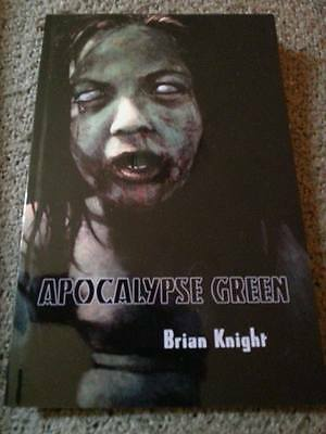 Brian Knight SIGNED Apocalypse Green US chapbook