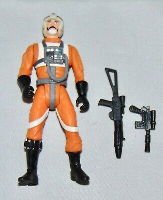 """Star Wars Power Of The Force 3.75"""" Biggs Darklighter Figure Used Complete POTF"""