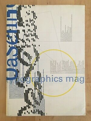 Baseline International Typographics Magazine no. 26 1998 Abram Games