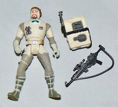 """Star Wars Power Of The Force 3.75"""" Hoth Rebel Soldier Figure Used Complete POTF"""