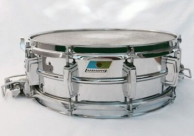 Ludwig Snare  Supersensitive Vintage 1976 B/Olive Badge Super Clean