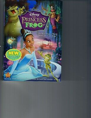 The Princess and the Frog DVD SEALED