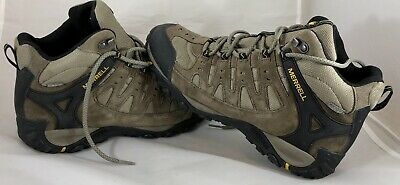 a7bce67944d MERRELL ACCENTOR MID Waterproof Brown Athletic Hiking Boots Womens ...