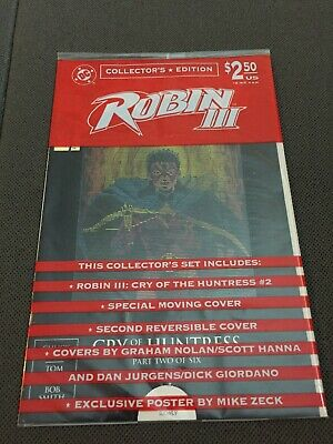 DC COMICS BOOK ROBIN III CRY OF THE HUNTRESS Part 2 Moving Cover Sealed