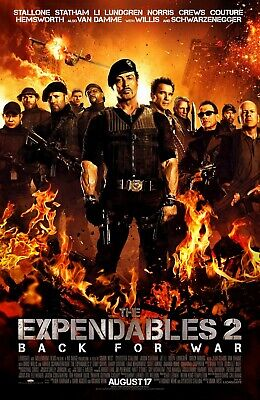 The Expendables 2 - DVD DISC ONLY - no case