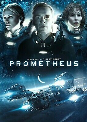 Prometheus DVD - DISC ONLY - no case (Fast & Free Postage)