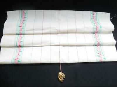 2 Superb Vintage French Metis Linen Torchons-Tea Towels -Fabric