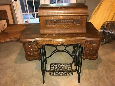 Antique Sears Minnesota Model A-10 Sewing Machine -- 1911 -- Local Pick Up