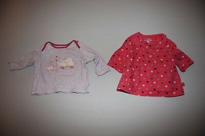 Baby girls tops bundle - 2 items (6 - 9 months) - Baby Gap and Marks and Spencer