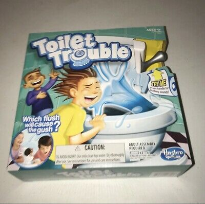 Hasbro Games Toilet Trouble Game Brand New Board Game