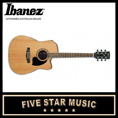 Ibanez Acoustic Electric Guitar Pf17Ece Low Gloss Natural W Pickup And Cutaway