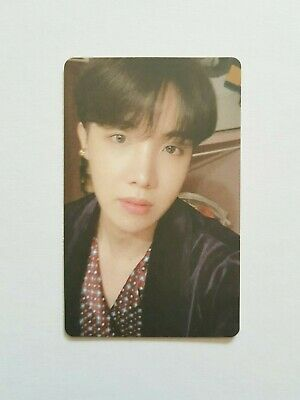"""K-Pop Bts Album """"Map Of The Soul : Persona"""" Official J-Hope Photocard"""