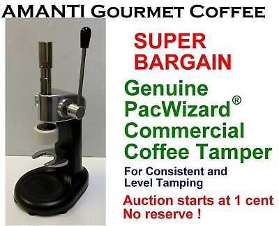 BARGAIN Genuine Consistent Level PacWizard(R) XL Coffee Tamper + BONUS AMANTI