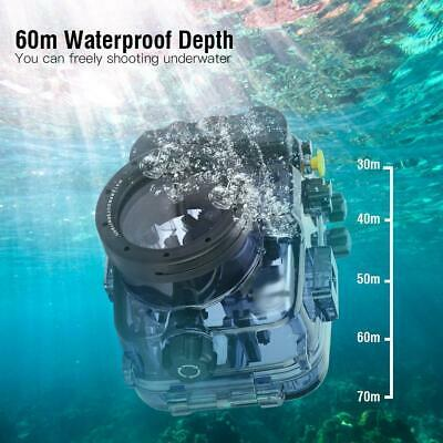 60m Underwater Diving Waterproof Housing Case for Sony A6000/A6300/A6500 DT
