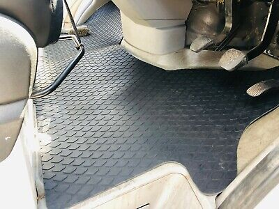 Ford Transit (Mk7) 5Mm Heavy  Duty Rubber  Floor Mats Front Tailored 2006 -2013