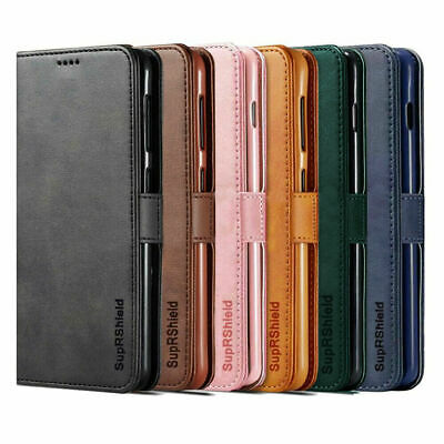 For Optus X View / X Vista Wallet Leather Case Flip Case Cover + Tempered Glass