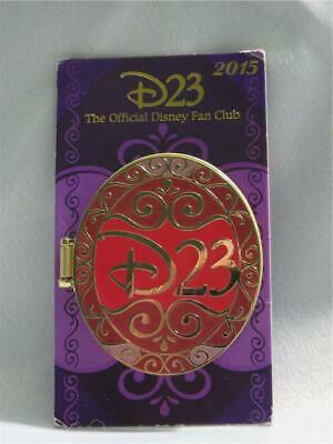 Walt Disney Parks D23 Fan Club Hinged Pin Mickey Mouse Statue 2015 Commemorative